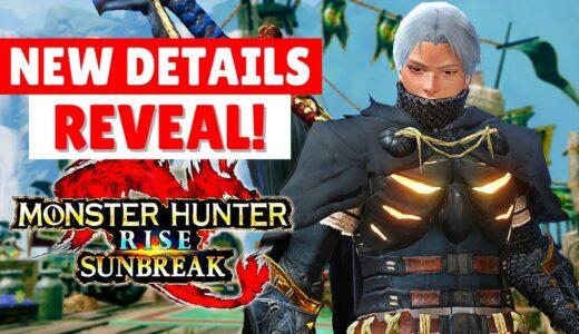 Monster Hunter Rise: Sunbreak NEW DETAILS REVEAL GAMEPLAY TRAILER PC NEWS モンスターハンターライズ:サンブレイク ニュース